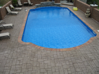 pool stamped concrete image